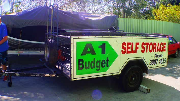 a1 budget storage trailer for use
